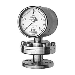 Schaffer Diaphragm, Stainless Steel Case, Flanged Connection