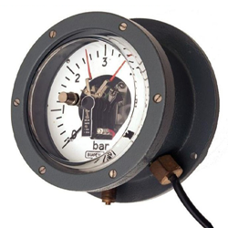 Watertight Pressure Gauge for Underground Cables